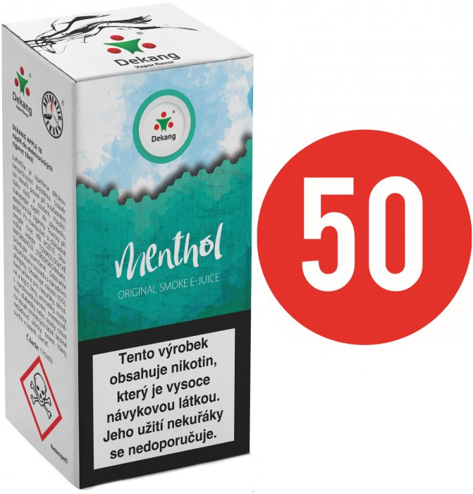 Liquid Dekang Fifty Menthol 10ml - 16mg