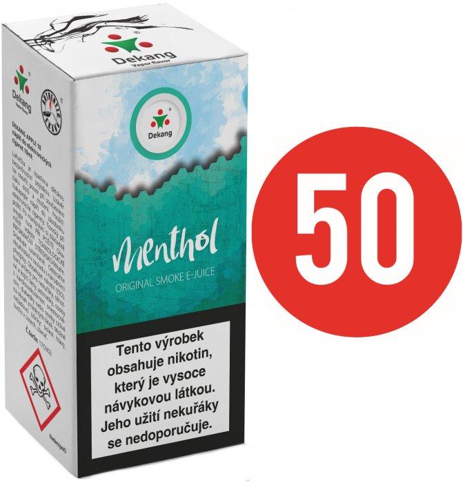 Liquid Dekang Fifty Menthol 10ml - 18mg