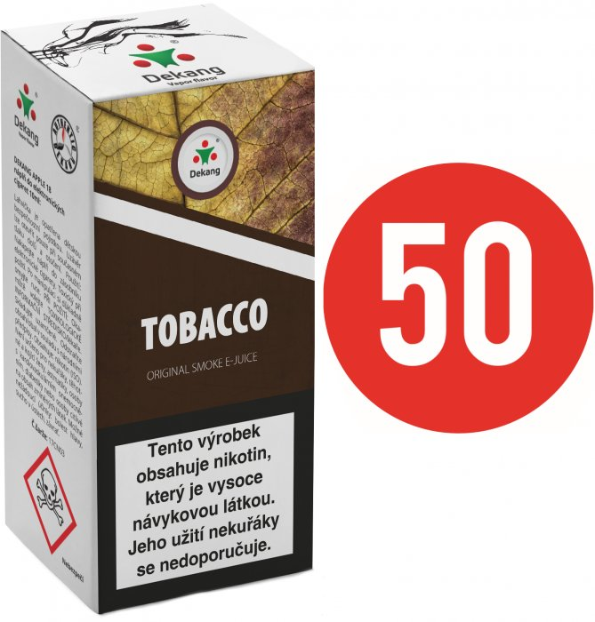 Liquid Dekang Fifty Tobacco 10ml - 11mg (Tabák)