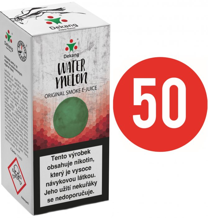 Liquid Dekang Fifty Watermelon 10ml - 16mg (Vodní meloun)