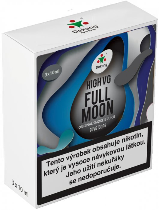 Liquid Dekang High VG 3Pack Full Moon 3x10ml - 6mg