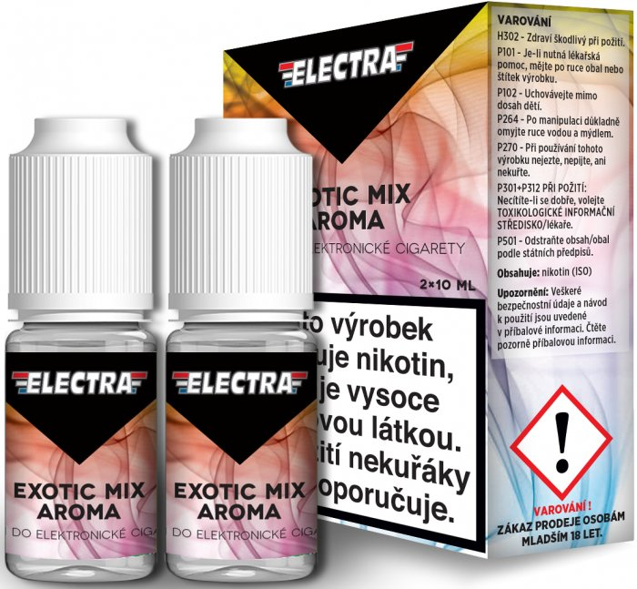 Liquid ELECTRA 2Pack Exotic Mix 2x10ml - 18mg (Mix exotického ovoce)