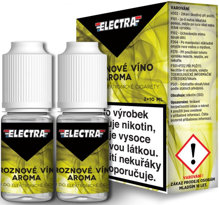 Liquid ELECTRA 2Pack Grape 2x10ml - 12mg (Hroznové víno)
