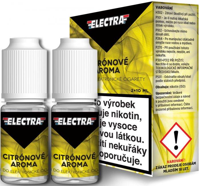 Liquid ELECTRA 2Pack Lemon 2x10ml - 0mg (Citrón)