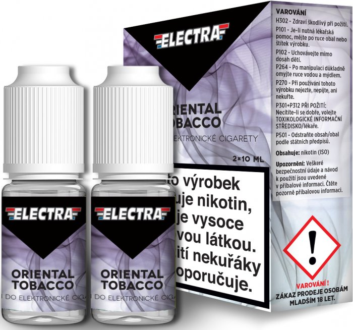 Liquid ELECTRA 2Pack Oriental Tobacco 2x10ml - 6mg