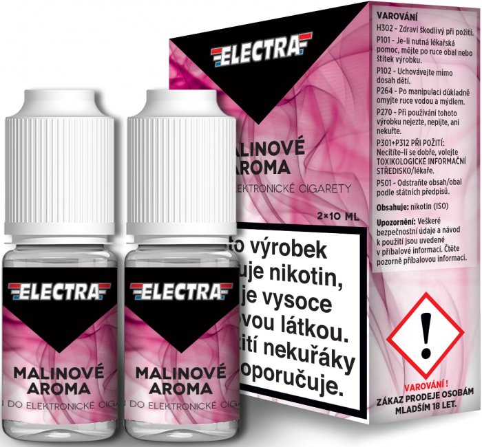 Liquid ELECTRA 2Pack Raspberry 2x10ml - 18mg (Malina)