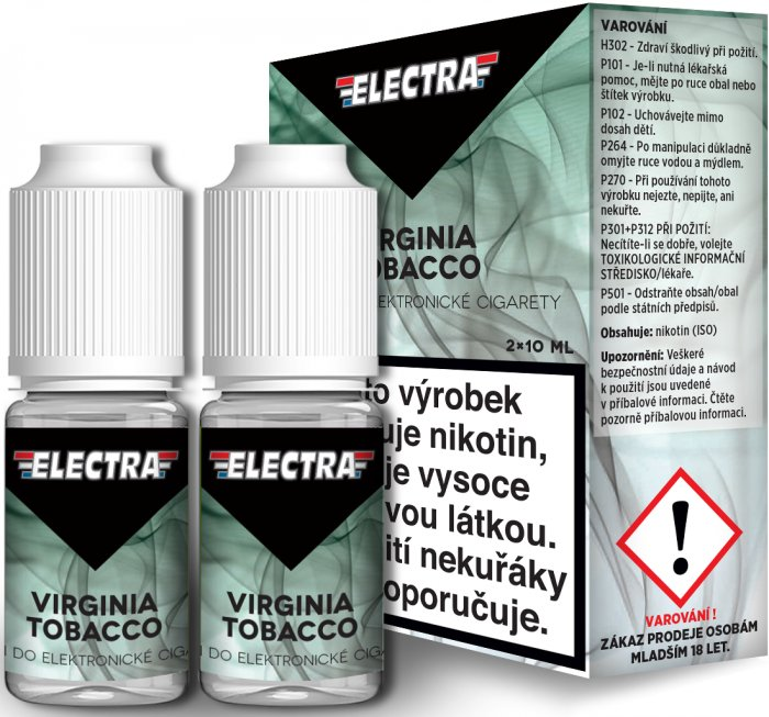 Liquid ELECTRA 2Pack Virginia Tobacco 2x10ml - 18mg
