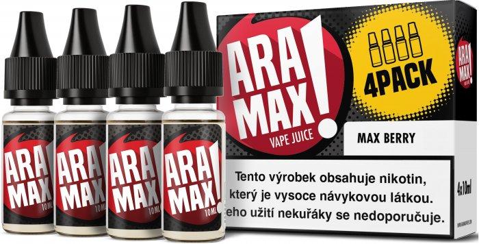 Liquid ARAMAX 4Pack Max Berry 4x10ml-18mg