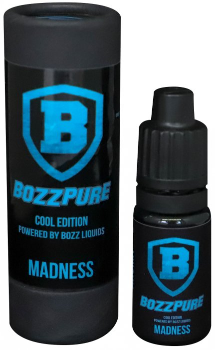 Příchuť Bozz Pure COOL EDITION 10ml Madness