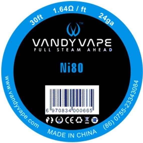 Vandy Vape Ni80 odporový drát 24GA 9m