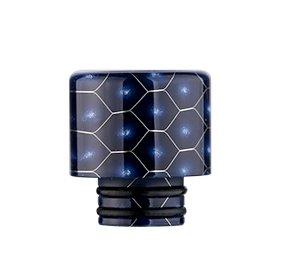 Snake Pattern 510 náustek pro clearomizer Blue