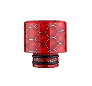 Snake Pattern 510 náustek pro clearomizer Red