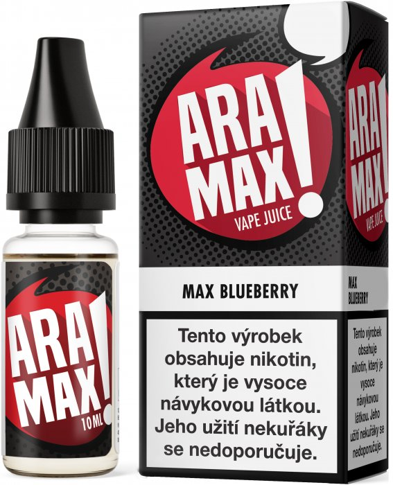 Liquid ARAMAX Max Blueberry 10ml-6mg