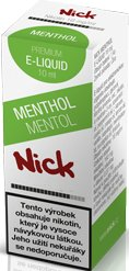 Liquid Nick Menthol Medium 10ml-9mg (Menthol)