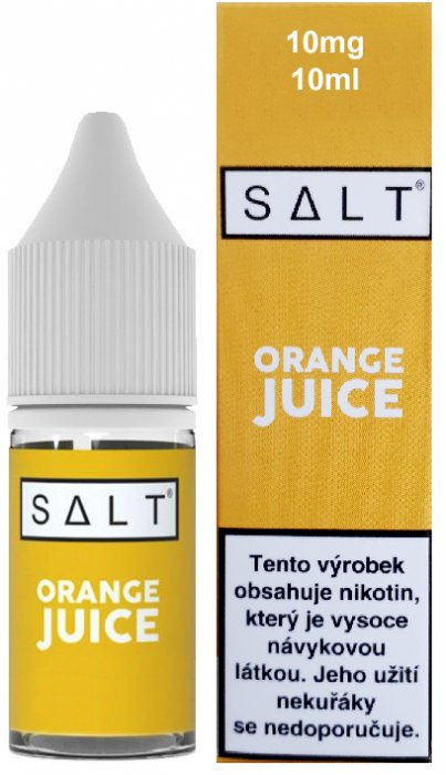 Liquid Juice Sauz SALT CZ Orange Juice 10ml - 10mg