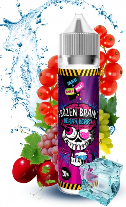 Příchuť Chill Pill Shake and Vape Frozen Brains 20ml