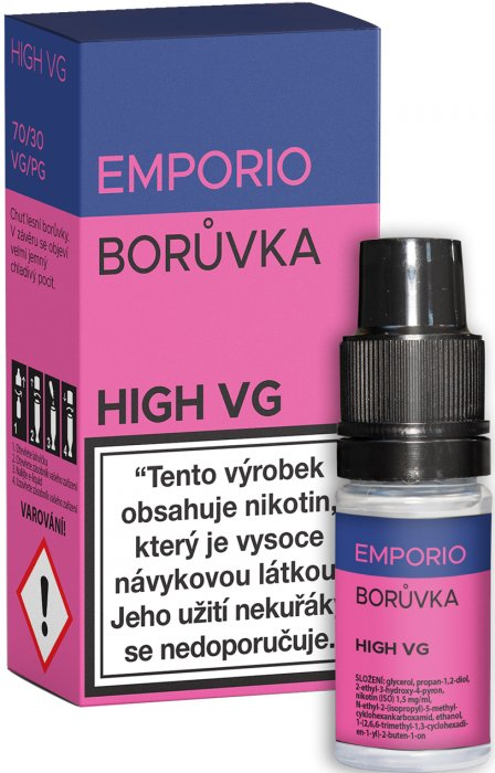 Liquid EMPORIO High VG Blueberry 10ml - 3mg