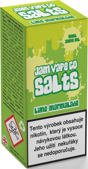Liquid Juice Sauz SALT The Jam Vape Co Lime Marmalade 10ml - 20mg