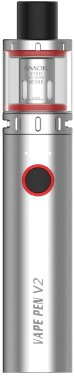 Smoktech Vape Pen V2 elektronická cigareta 1600mAh Silver