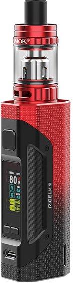 Smoktech Rigel Mini 80W Grip Full Kit Black Red