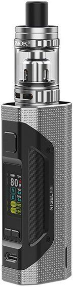 Smoktech Rigel Mini 80W Grip Full Kit Silver