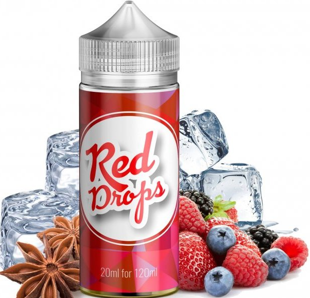 Příchuť Infamous Drops Shake and Vape 20ml Red Drops