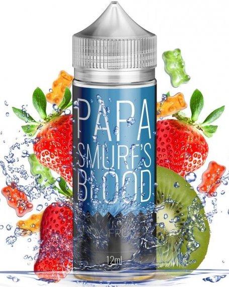 Příchuť Infamous Originals Shake and Vape 12ml Papa Smurf Blood