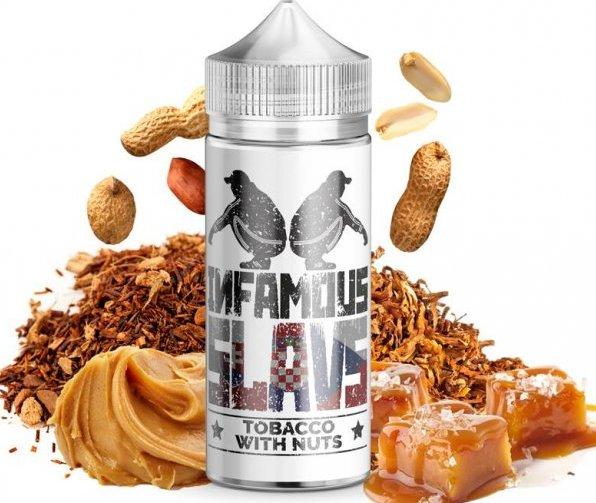 Příchuť Infamous Slavs Shake and Vape 20ml Tobacco with Nuts