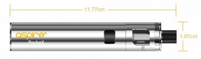 aSpire PockeX AIO elektronická cigareta 1500mAh ANNIVERSARY EDITION Black White