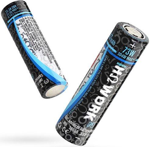 Hohmtech WORK baterie typ 18650 2547mAh 35,8A