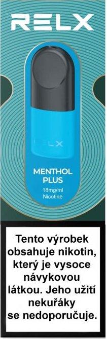 RELX Pod Pro-2 cartridge Menthol Plus 18mg 2pack