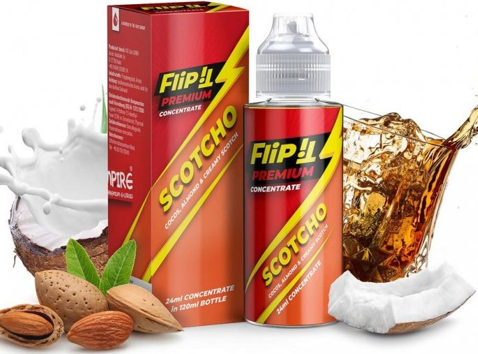 Příchuť PJ Empire Shake and Vape Flip iT 24ml Scotcho