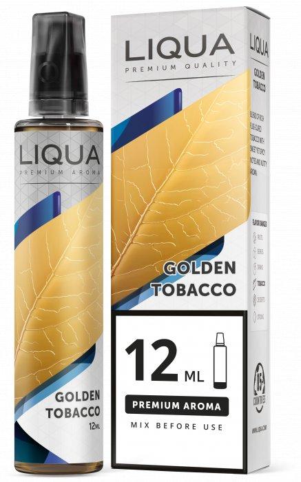 Příchuť Liqua Mix&Go 12ml Golden Tobacco