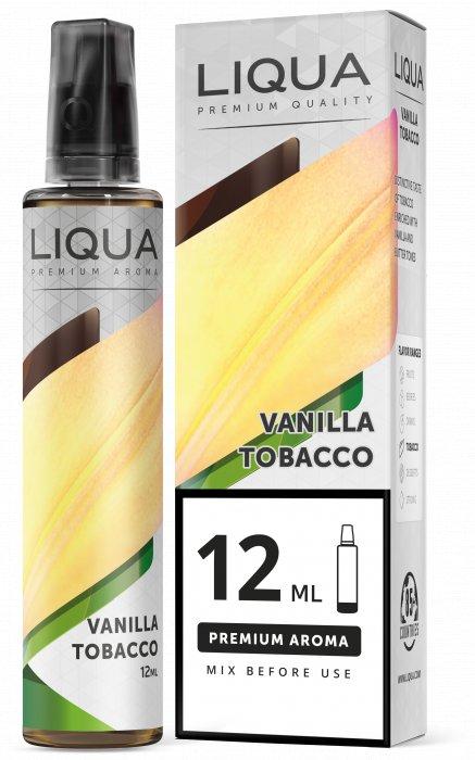 Příchuť Liqua Mix&Go 12ml Vanilla Tobacco