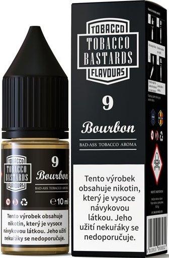 Liquid Flavormonks Tobacco Bastards SALT No.09 Bourbon 10ml - 10mg