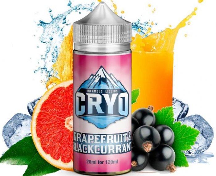 Příchuť Infamous Cryo Shake and Vape 20ml Grapefruit and Blackcurrant