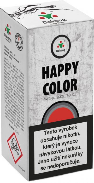 Liquid Dekang Happy color 10ml - 18mg