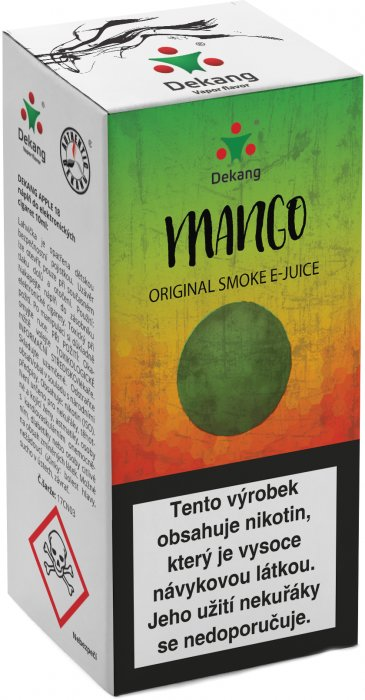 Liquid Dekang Mango 10ml - 18mg (mango)