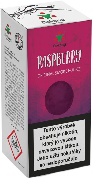 Liquid Dekang Raspberry 10ml - 16mg (Malina)