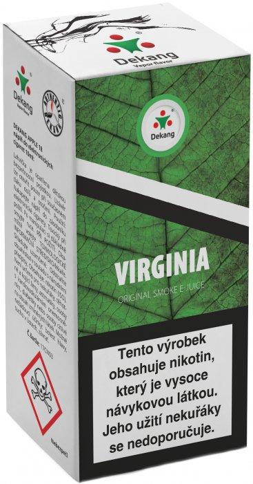 Liquid Dekang Virginia 10ml - 6mg (virginia tabák)