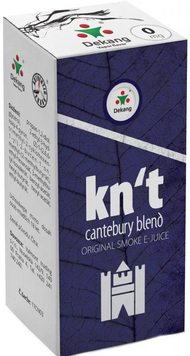 Liquid Dekang Kn´t - cantebury blend 10ml - 0mg