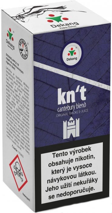 Liquid Dekang Kn´t - cantebury blend 10ml - 11mg