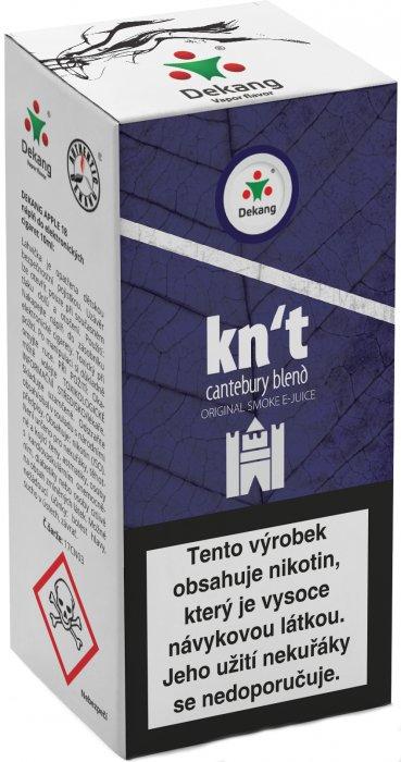 Liquid Dekang Kn´t - cantebury blend 10ml - 6mg