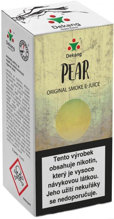 Liquid Dekang Pear (Hruška) 10ml - 11mg