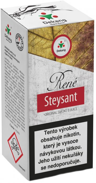 Liquid Dekang René Steysant 10ml - 18mg